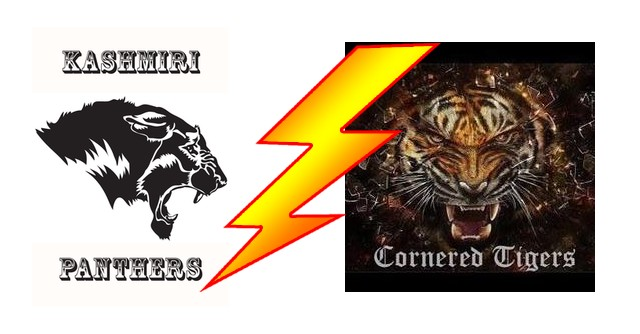 Kashmir Panthers  vs Cornered Tigers